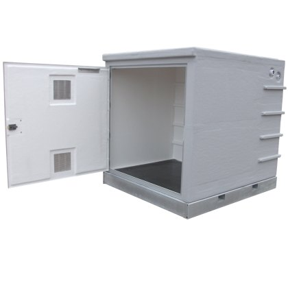 CAT 5 AB air gap GRP Pump Enclosures
