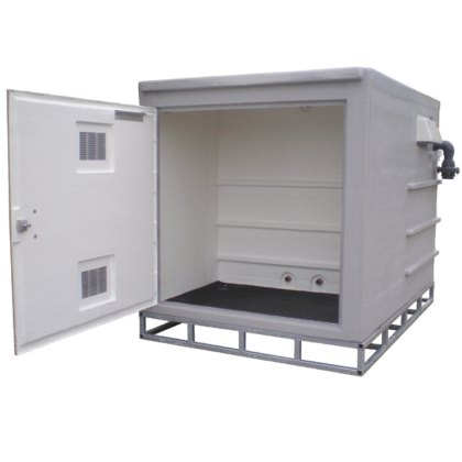AG air gap GRP Pump Enclosures