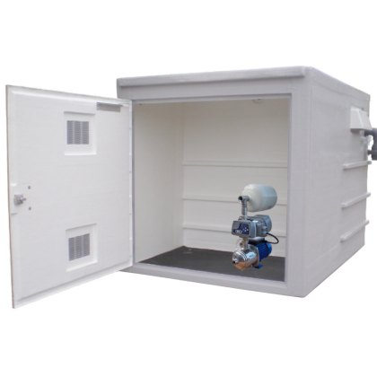 GRP Enclosure with Single Pump