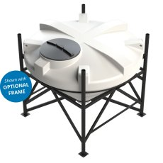 Enduramaxx 1500 Litre Cone Tank with 45° base