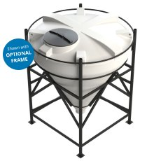 Enduramaxx 2000 Litre Cone Tank with 60° base