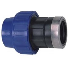 1/2' BSP to 20mm MDPE compression fitting