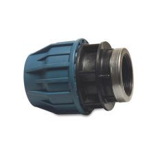 1' BSP to 25mm MDPE compression fitting