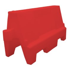 EVO Road Traffic Safety Barrier 1 Metre , Red