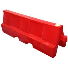 Pack (2) 2 Metre Euro Safety Barriers, one red, one white