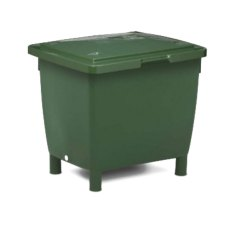 210 Litre Heavy Duty Plastic Container on Legs with Lid