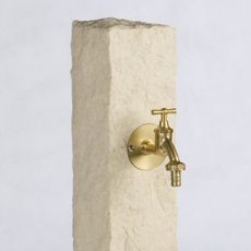 Natural Stone Watering Post - Sandstone