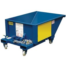 Auto Tipping Skip on Castors, ATS2C