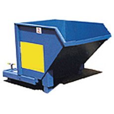 Auto Tipping Skip on Legs, ATS7L