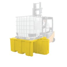 IBC Single Bund Spill Containment With Dispensing Area