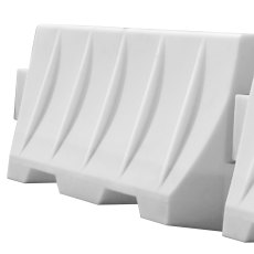 1.6 Metre White Safety Barrier
