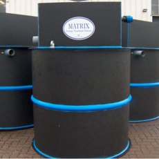 9 Person Matrix Sewage Treatment System Matrix, Pump Discharge