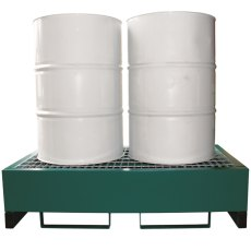 Steel Drum Spill Pallet, E-DP2