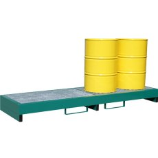 Steel Drum Spill Pallet, E-DP4L