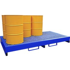 Steel Drum Spill Pallet, E-DP8