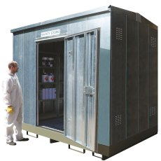 Galvanised Safety Store with Single Door, Economy