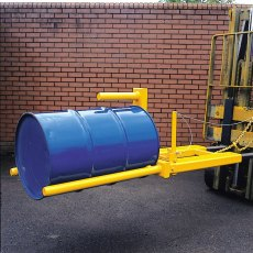 Hinged Single Drum Fork Handler