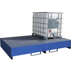 IBC Metal Spill Pallet for 2 IBCs