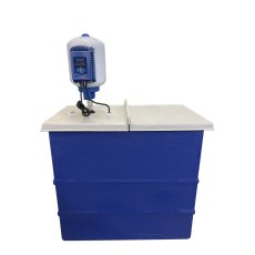 1501 Litre GRP Water Tank with a Single Pump Booster Set