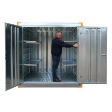 Steel Secure 3 Metre walk in store