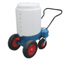 110 Litre 4 Wheel Mobile Milk Mixer