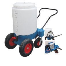 110 Litre 4 Wheel Mobile Milk Mixer, 24volt