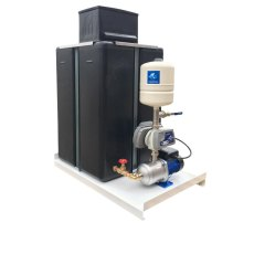 220 Litre Cold Water Tank with a Variable Speed Pump Booster Set