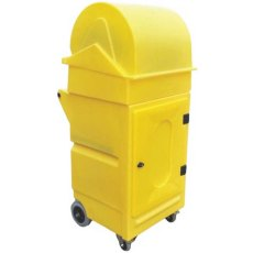 Dispensing Roll Mobile Maintenance Cabinet with Lockable Door