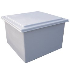 225 Litre GRP Hot Water Tank, Insulated 50mm