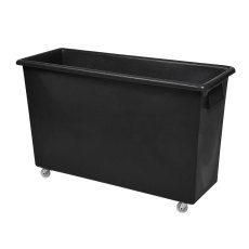 165 Litre Bar Truck, Black Recycled Plastic