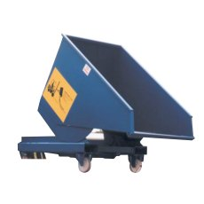 Steel Roll Forward Skip on Castors, RFS11C