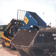 Steel Roll Forward Skip on Castors, RFS7C