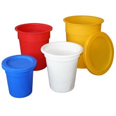 215 Litre Plastic Tapered Bins / Container