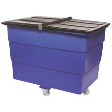 500 Litre Split Lid Plastic Container / Trolley / Truck with lid