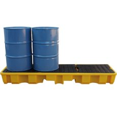 4 Drum Spill Pallets, in-line