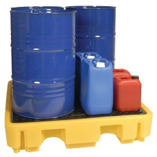 4 Drum Stackable Spill Pallets