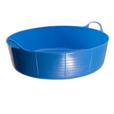 35 Litre Blue Tubtrug, Flexible Large Shallow