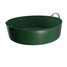 35 Litre Green Tubtrug, Flexible Large Shallow
