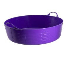 35 Litre Purple Tubtrug, Flexible Large Shallow