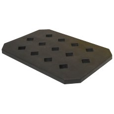 Spill drip tray with grate, 22 Litre