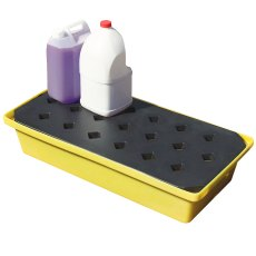Spill drip tray with grate, 31 Litre