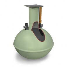 Clearwater Alpha 3,800 Litre Septic Tank