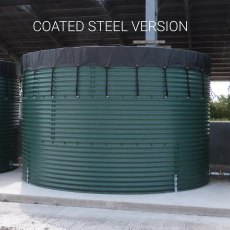 9000 Litre Galvanised Steel Water Tank