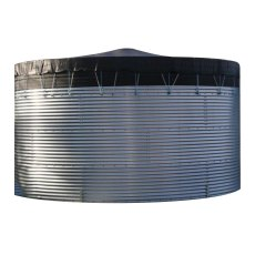 13,000 Litre Galvanised Water Storage Tank