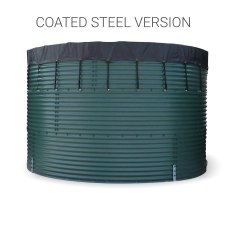 73,500 Litre Galvanised Steel Water Storage Tank