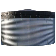 300,000 Litre Galvanised Steel Water Tank