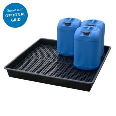Spill drip tray base only, 100 Litre