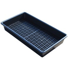 Spill drip tray with Grid base, 65 Litre