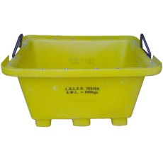 250 Litre LOLER Crane Lift Mortar Tub - 4 pack