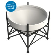 Enduramaxx 1500 Litre Cone Tank Open Top with 40° base